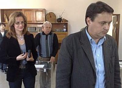Andrei Volosevici si sotia au votat cu Traian Basescu