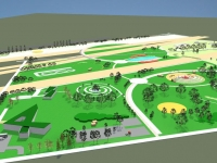 Incep lucrarile de constructie a Parcului Municipal Vest