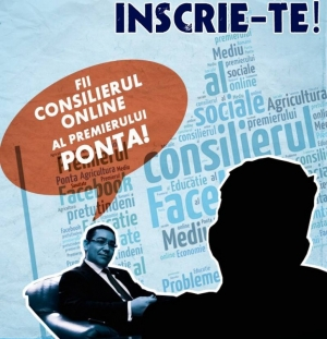 Ponta lansează aplicația prin care-l poți consilia pe Facebook