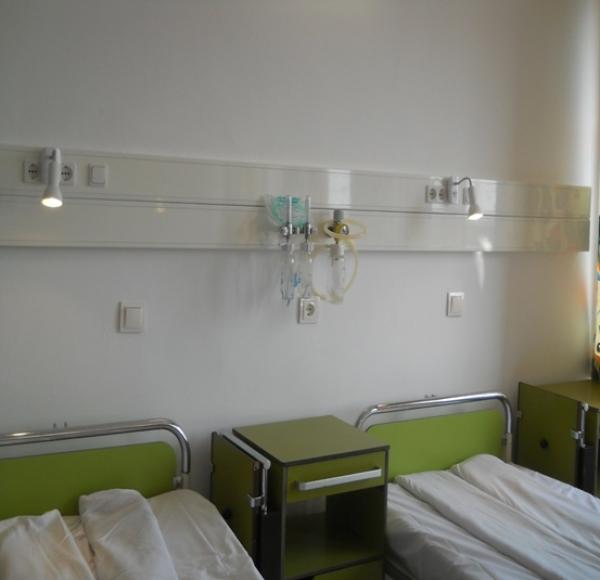 Salon ETALON la Spitalul Judetean de Urgenta Ploiesti. Vezi cum arata cea mai MODERNA incapere deschisa pentru pacienti