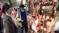 Ouă încondeiate, cozonaci, ierburi de leac, podoabe, mobilier pictat şi icoane la Târgul de Florii din weekend