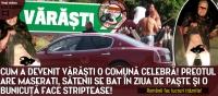 """Astea sunt cele trei """"minuni"""" din Varasti: preotul cu Maserati, soferul cu ghioagă si batrană porno!"""