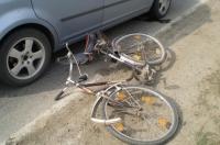 Inca un biciclist lovit de masina, in Ploiesti