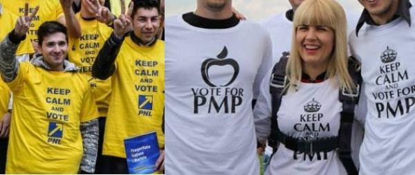 Gafă sau premeditare? PNL si PMP au acelasi mesaj de campanie