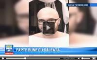 """Andreea Esca a acceptat provocarea """"Ice Bucket Challenge"""" lansata de Mihai Bendeac. Mesajul a fost transmis in direct"""