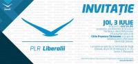 Vezi cum arata invitația oficială a lui Tăriceanu pentru lansarea partidului