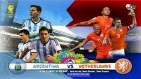 OLANDA-ARGENTINA. LIVE VIDEO 2-4 (după 11 metri).