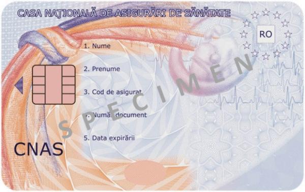 Prahova: Incepe distribuirea cardurilor nationale de sanatate