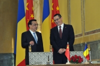 Premierul Chinei, convins ca vizita lui Ponta va avea un rol important in relatiile bilaterale