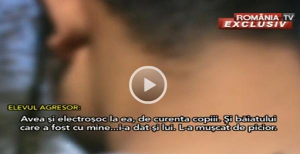 SCANDAL în ÎNVĂŢĂMÂNT: Elevi ELECTROCUTAŢI şi loviţi cu chei franceze de o profesoară VIDEO CAMERA ASCUNSĂ