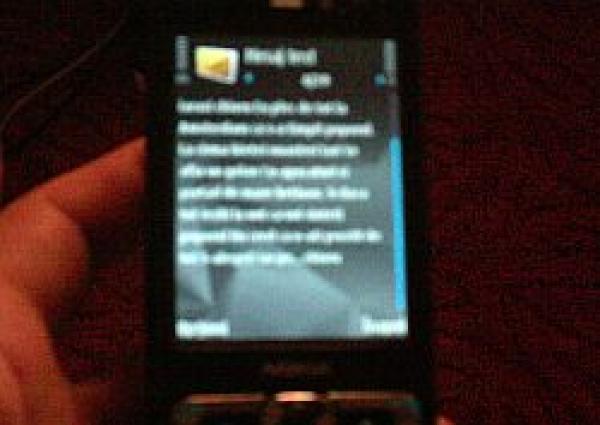 Au început să circule SMS-urile electorale