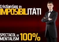 Mentalistul Cristian GOG vine in Ploiesti!