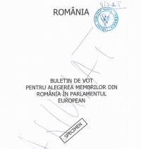 Cum va arăta buletinul de vot pentru europarlamentare