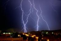 Cod PORTOCALIU de ploi si descarcari electrice, in Prahova