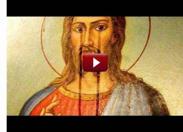 NU S-A MAI VAZUT ASA CEVA!  Zeci de icoane din biserici au început să plângă!!!  Vezi VIDEO si RAMAI TRAZNIT