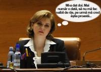 Cu cat tupeu vorbeste Roberta Anastase despre disponibilizarile lui Ponta