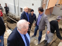 Autoritatile judetene au mers in zonele afectate de alunecarile de teren, in Gornet si Chiojdeanca