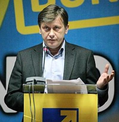 """Antonescu: """"În unele sondaje sunt peste Geoană şi Băsescu"""""""