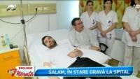 """Ce nu pot nici medicii sa spuna despre starea de sanatate a lui Florin Salam! """"Are doua pungi de puroi cat oul de bibilica! Ar putea sa nu mai poata canta"""""""