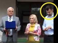 Minune! PDL-istul Adrian Dobre a fost vazut pe teren, in interes de serviciu!