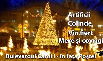 Sinaia porneşte, pe 10 decembrie, iluminatul public de sarbatori