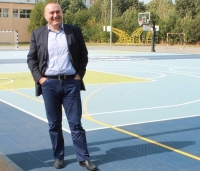 "Teren de sport modern, inaugurat de primarul Bădescu, la Colegiul ""Nichita Stănescu"""