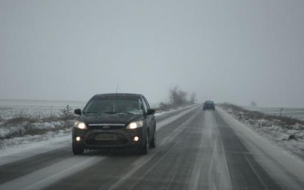 Ninge in Prahova! Zapada de 2 cm pe carosabil pe DN1, la Azuga si pe DN1 A