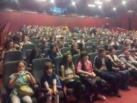 """Peste 1.000 de elevi au participat la proiectiile organizate de """"Guerilla Verde"""" în Ploiești"""