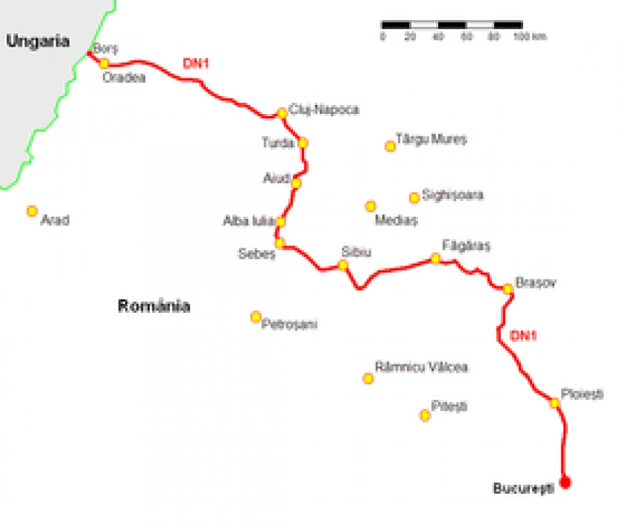 Cnadnr Harta Poluarii Fonice Cel Mai Zgomotos Drum Din Romania