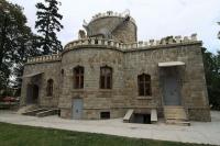 Proaspat hidroizolat, in Castelul Hasdeu din Campina ploua ca afara