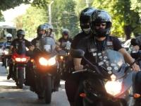 Motociclişti din Croaţia, în vizită la Ploieşti