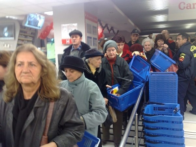 Carrefour Market a readus cumparatorii in  Winmarkt Grand Center - GALERIE FOTO