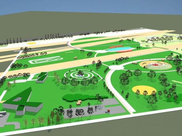 Incepe constructia Parcului Municipal Vest! Vezi aici detalii despre cum va arata