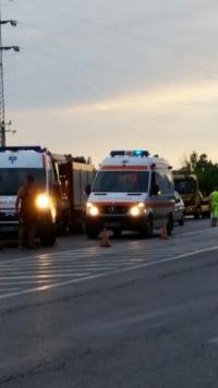 Accident grav la Bucov. Traficul a fost restrictionat FOTO
