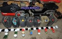 Cantitate IMPRESIONANTA de combustibil, depistata de politisti la cativa prahoveni