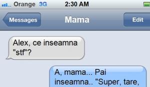 Mama, ce inseamna....?