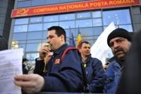 4.000 de poştaşi protestează în faţa Guvernului. Care sunt revedincările acestora