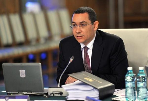 Ponta a fost primit de preşedintele RP Chineze, Xi Jinping