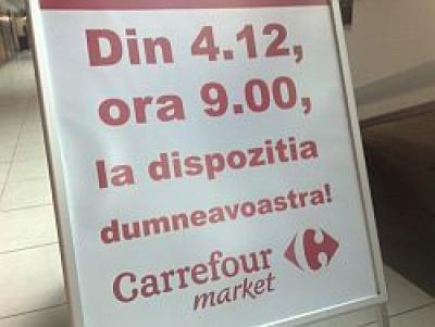 Vineri se deschide Carrefour Market Ploiesti, o investitie de un milion de euro - GALERIE FOTO