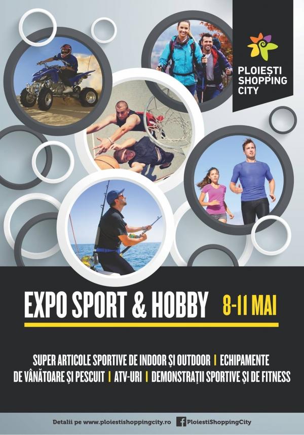 În luna sporturilor, Ploiești Shopping City organizează  Târgul Sport & Hobby