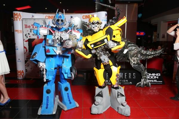 Robotii Transformers vin in acest weekend in AFI Palace Ploiesti
