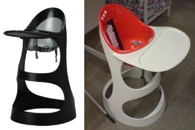 Ai un scaun de copii ca asta, de la Ikea? E periculos, du-l inapoi!