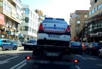 Ce cauta masina politiei pe platforma SGU?