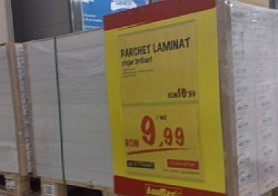 Oferta speciala: 9,9 lei/mp parchet laminat