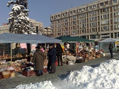 Targul de Cadouri din centru - un esec atat pentru comercianti, cat si pentru ploiesteni