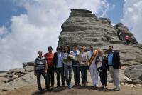 Inedit: Doi ploiesteni si-au facut nunta la 2.200 metri altitudine