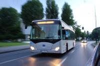 Autobuz electric, in teste, la Ploiesti