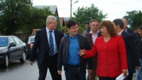 Ministrul Nicolae Banicioiu o sustine pe Aida Iarca la Primaria Magureni