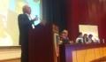 Mircea Cosma, aplaudat la scena deschisa. Presedintele CJ Prahova a compus o poezie pentru viitorul presedinte al tarii
