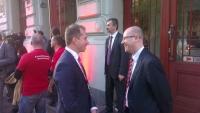 Presedintele TSD a participat la un eveniment dedicat alegerilor europarlamentare, la Praga